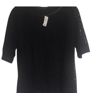 Brand new black lace top from the Limited.